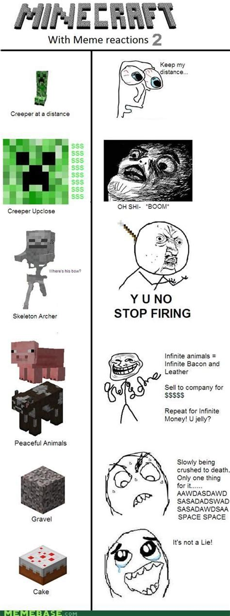 Mine Craft Meme - holy hot dicks from hell 1 the o jays minecraft and lol