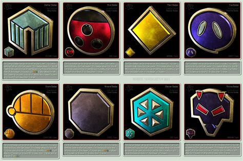 Pokemon Gym Badges 3d Johto League By Robbienordgren On