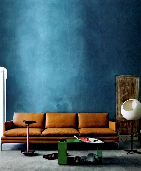 Brown Couch Living Room Wall Colors by Petrol In All Kinds The Taste Of Petrol And Porcelain