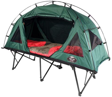 compact single beds k rite compact tent cot collapsible combo 2 in 1