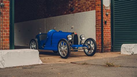 Back in 1926, bugatti founder's ettore and his oldest son, jean, created a. Bugatti Baby II is a $90K, 70 km/h Electric Car For Kids? - Motor Illustrated