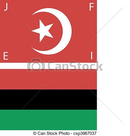 american black nationalist flags set  american black