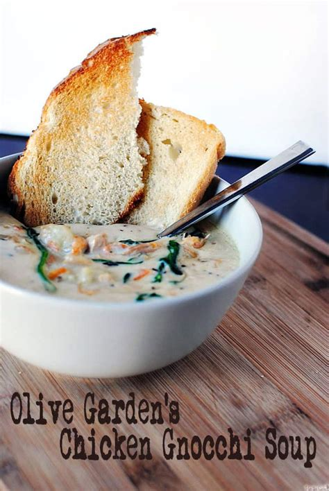 olive garden chicken and gnocchi soup chicken gnocchi soup dinner fixins pass the sushi