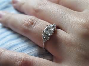 1 carat princess cut engagement ring princess cut engagement rings on fingers hd fashion rings for ring diamantbilds
