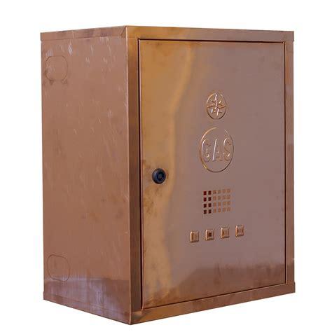 cassette gas metano 065 cassetta rame per contatore gas tecnometal