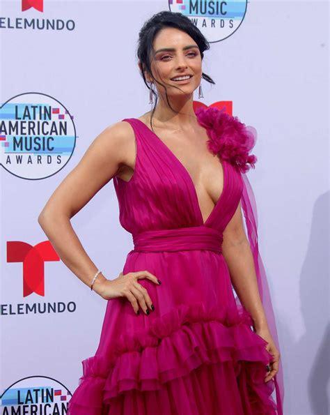 Aislinn Derbez Attends 2019 Latin American Music Awards at ...