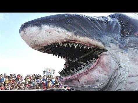 Biggest Shark Ever Megalodon in the World