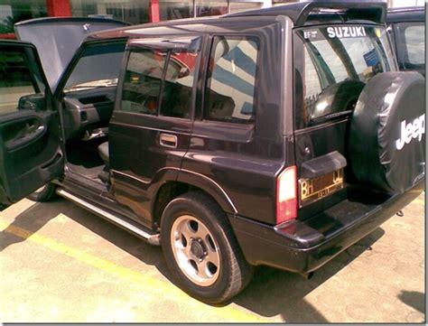 mobil bekas jambi suzuki escudo nomade