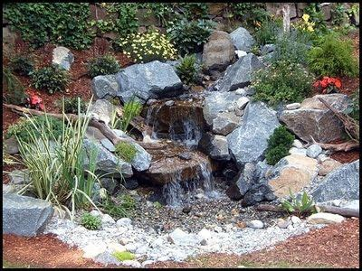 Disappearing Pondless Waterfall Ideas  Northern New