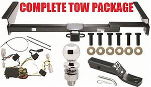 Class 3 Trailer Hitch 2inch Tow Receiver   Wiring Kit