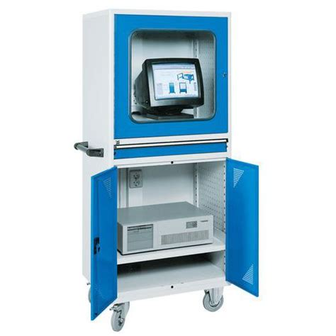 armoire bureau informatique armoire informatique mobile pour ordinateur de bureau