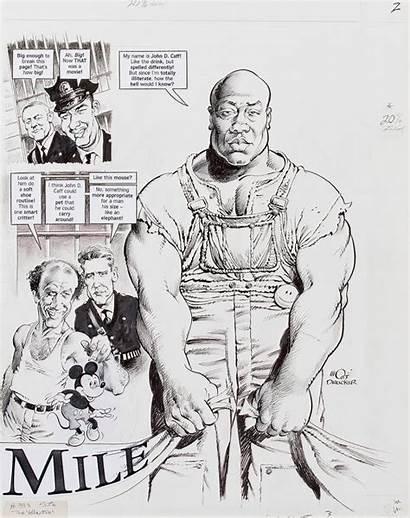 Mort Drucker Drawings Mile Parody Figural Fine