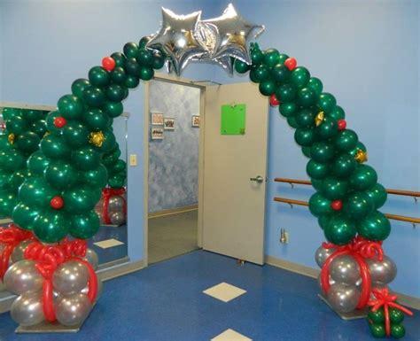 how to make a balloon christmas tree tree balloon arch 618 651 1505