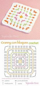 546 Best Esquemas Granny Squares Images On Pinterest