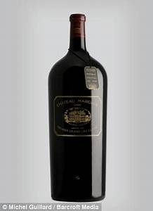 World's most expensive bottle of red wine, a 12-litre ...