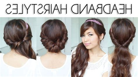 quick  easy updos  long thin hair