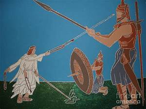 David And Goliath by Daniel Henning
