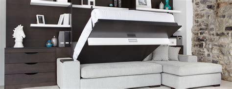 canapé pliable limuro lits muraux lit escamotables design intérieur