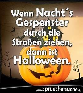 Lustige Halloween Sprüche : halloweenspr che wenn nachts gespenster durch die stra en ziehen spr che suche ~ Frokenaadalensverden.com Haus und Dekorationen
