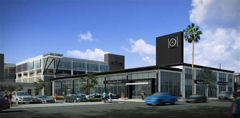 Mercedesbenz Dealership Gets $30 Million Renovation