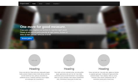 bootstrap carousel template bootstrap carousel exle lxzc