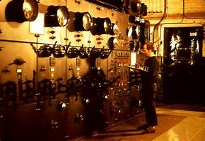 The High Voltage Control Panel Was The Electrical Heart Of