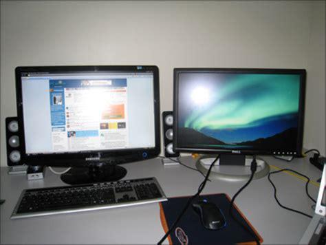 ecran ordinateur bureau pc astuces utiliser deux écrans en même temps