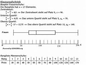 Oberes Und Unteres Quartil Berechnen : daten boxplot statistik pflichtteilaufgaben realschulabschluss ~ Themetempest.com Abrechnung