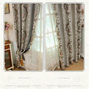 2020 European Style Yarn Dyed Jacquard Curtain For Living