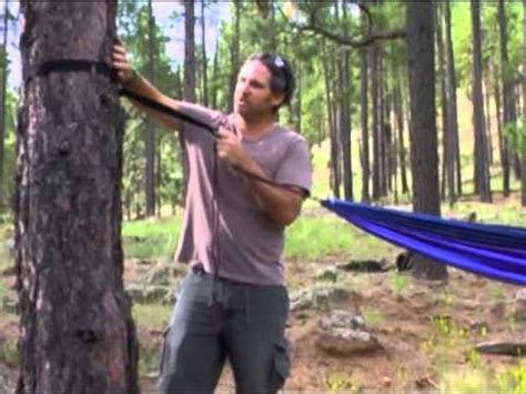 How To Use Hammock Tree Straps by How To Use Hammock Bliss Tree Straps