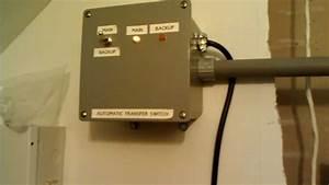 Homemade Transfer Switch