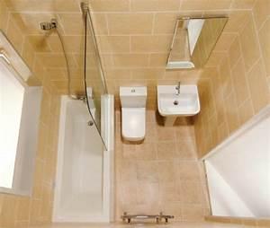 Three bathroom design ideas for small spaces for Toilet bathroom designs small space
