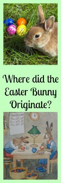 where did the easter bunny come from where did easter bunny originate germany of course