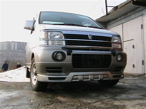 Nissan Elgrand Hd Picture by 1998 Nissan Elgrand Pictures