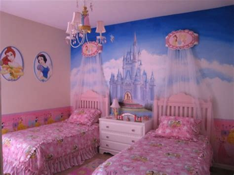 chambre princesse fille decoration chambre fille princesse disney