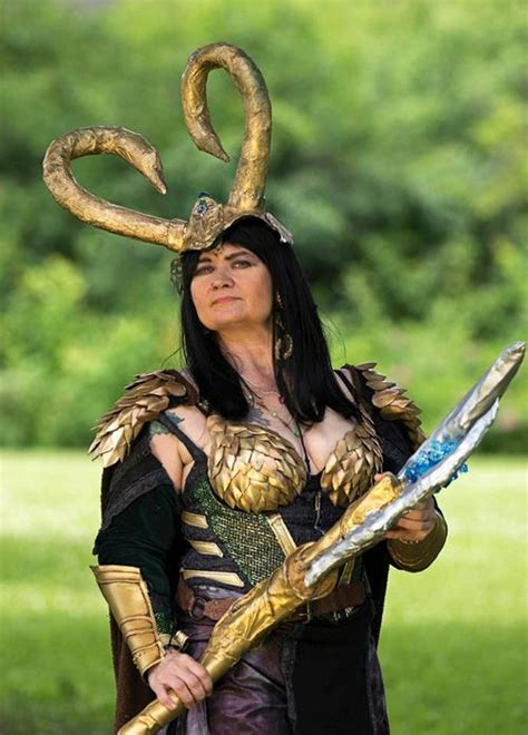 Pin By Geek Girls On Cosplay Lady Loki Cosplay Loki