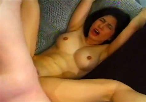 Seductive Asian Brunette Sexpot Gets Her Both Holes Fucked