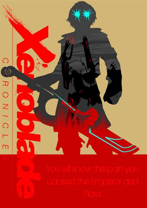 Xenoblade Chronicles Poster Shulk By Arbezenoki On Deviantart