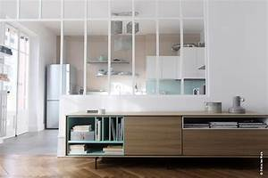 deco verriere salon With marvelous meuble separation cuisine sejour 4 forgiarini