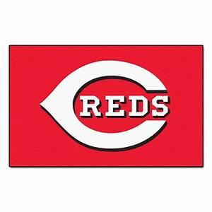 FANMATS Cincinnati Reds 5 ft x 8 ft Ulti-Mat-6477 - The