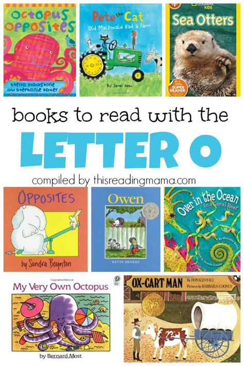 letter o book list 756 | Book List for the Letter O books to read with the letter O This Reading Mama