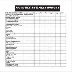 Sle Of Budget Sheet by Sle Business Budget 9 Documents In Pdf Excel