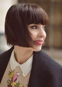 Coiffure Carre Plongeant : coiffure retro femme cheveux court ~ Nature-et-papiers.com Idées de Décoration