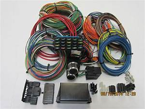 24 Circuit Streetrod  Muscle Car  Rat Rod  Gm  Hot Rod Wiring Harness For Sale