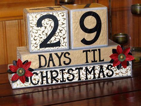 Christmas Countdown Blocks, Countdown Blocks, Xmas Gifts