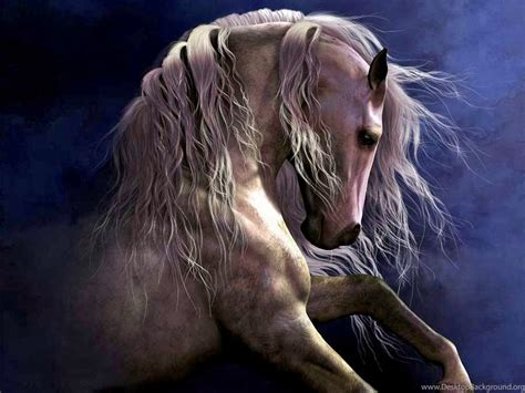 horses regal painting fantasy horse stallion hd
