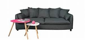 canape prague gris testez nos canapes prague gris design With tapis de course pas cher avec magasin canape 77