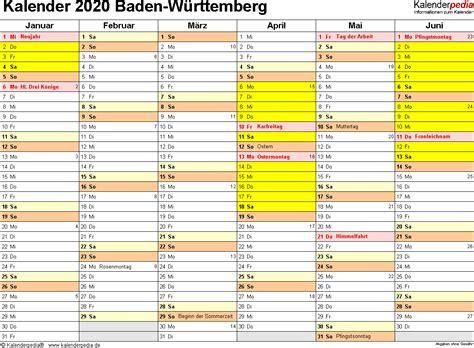 Kalender baden württemberg 2021 download als pdf oder png. Ferienbaden Württemberg 2021 / Kalender 2019 Bw Mit ...