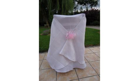 housse de chaise mariage tissu housse de chaise tissus satiné blanc antitache mariage
