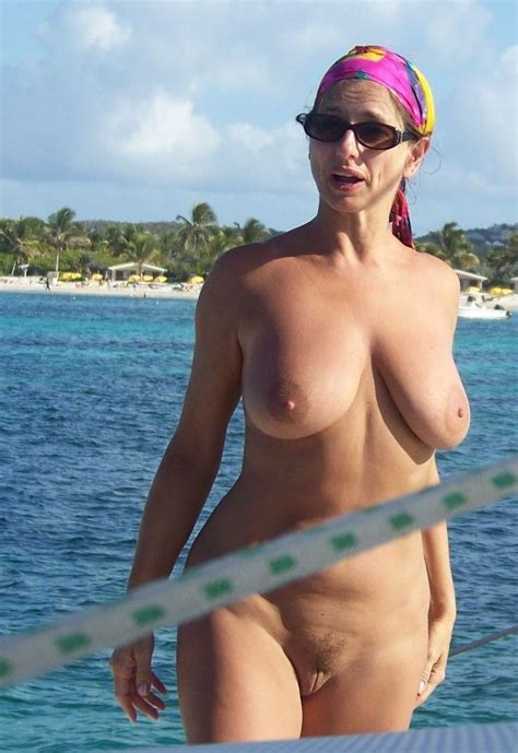 sexy woman with full natural breasts and great curves